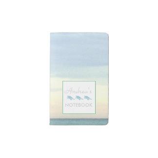 Destin's Emerald Coast Waters Pocket Moleskine Notebook