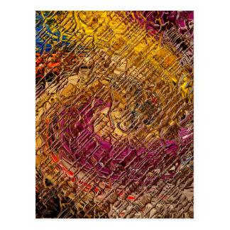 Destiny, an abstract creation postcard