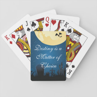Destiny is a Choice Playing Cards