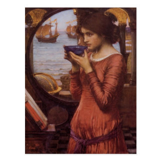 Destiny - John William Waterhouse - Destiny Postcard