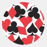 Destiny Las Vegas Wedding Round Sticker