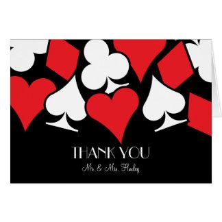 Destiny Las Vegas Wedding Thank You Note Card