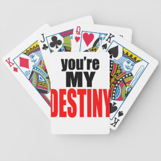 destiny lover girl boy romance couple marriage mar bicycle playing cards