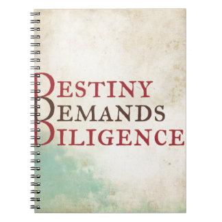 Destiny Notebook