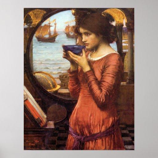 Destiny Pre-Raphaelite Poster By John Waterhouse