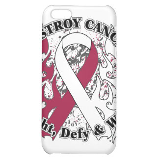 Destroy Head and Neck Cancer iPhone 5C Covers
