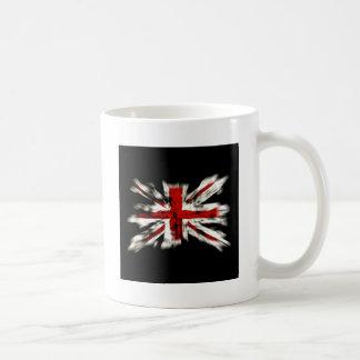 Destroyed British Flag Basic White Mug