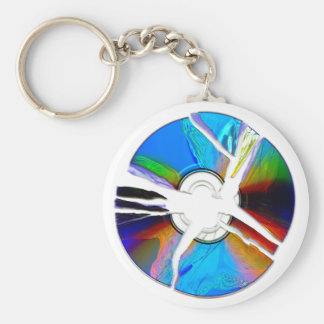 Destroyed CD II basic keychain