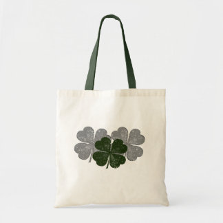 Destroyed Shamrock Tote Bag