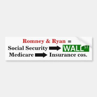 Destroying the social safety net bumper sticker
