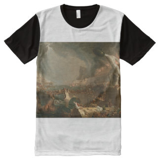 Destruction All-Over Print T-Shirt