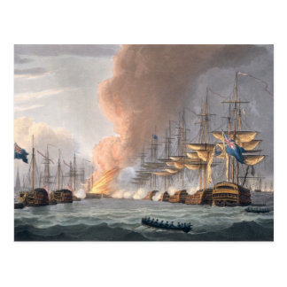 Destruction of the Danish Fleet before Copenhagen, Postcard
