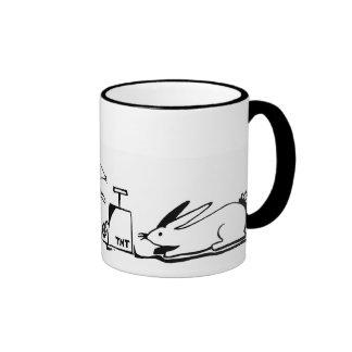 Destructobunnies Ringer Mug