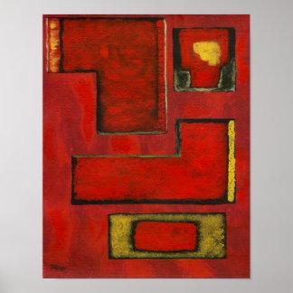 Detached Medium Art Print From Original Painting