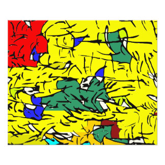 Detail abstract photo print