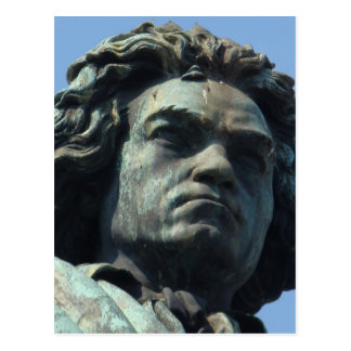 Detail (Head) Large Beethoven Statue Postcard