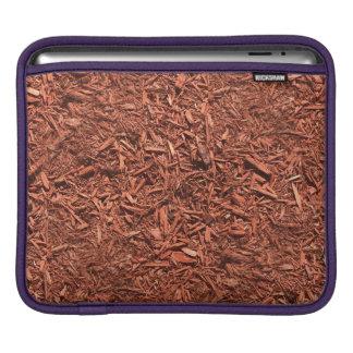 detail image of red cedar mulch for gardener iPad sleeve
