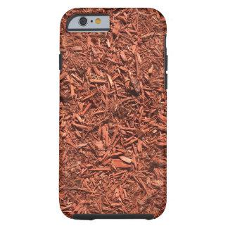 detail image of red cedar mulch for gardener tough iPhone 6 case