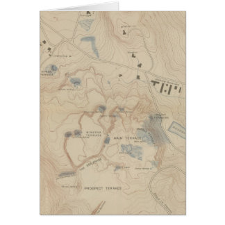 Detail Map of Mammoth Hot Springs Card