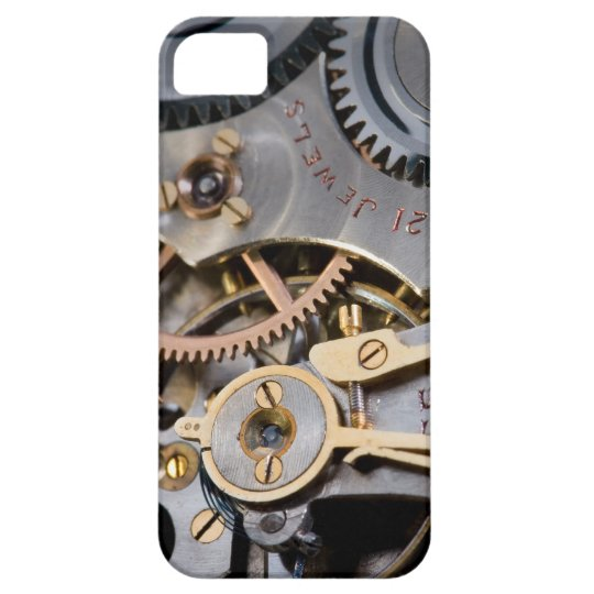 Detail of a pocket watch iPhone 5 case