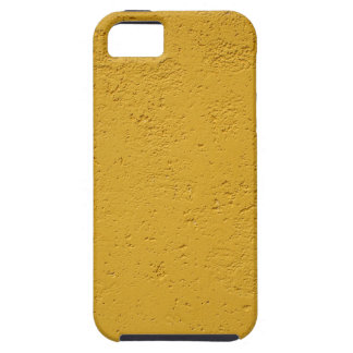 Detail of a wall of olive color tough iPhone 5 case