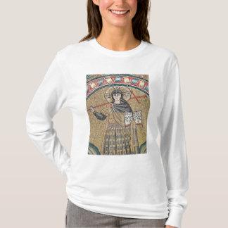 Detail of a Warrior Christ T-Shirt
