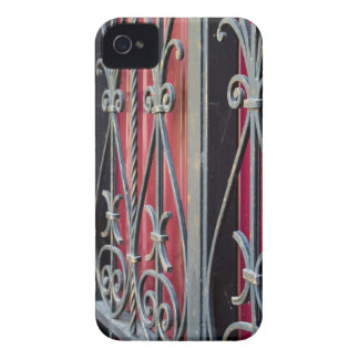 Detail of an old iron fence iPhone 4 Case-Mate cases