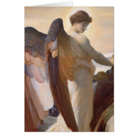 Detail of Angel, Elijah in the Wilderness Card