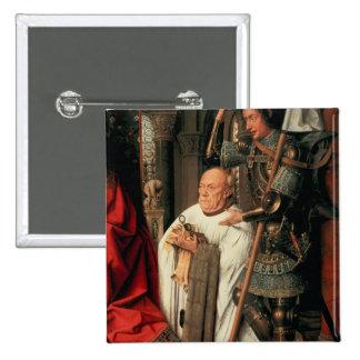 Detail of Canon Joris van der Paele 15 Cm Square Badge