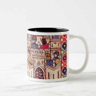 Detail of Cantiga 28 Two-Tone Coffee Mug