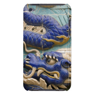 Detail of ceramic dragon on historic Nine Dragon iPod Touch Case-Mate Case