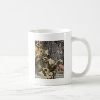 Detail of Fontana d'Artemide, Ortigia Coffee Mug