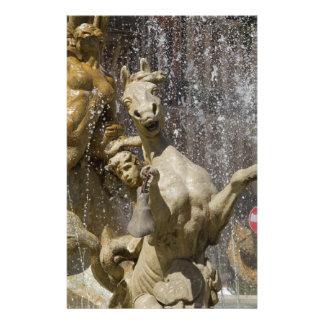 Detail of Fontana d'Artemide, Ortigia Stationery
