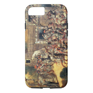 Detail of the Attempt to Pull Down the Cross facin iPhone 7 Case