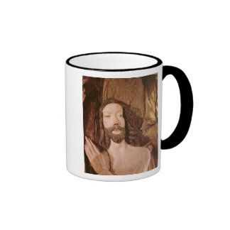 Detail of the Baptism of Christ Coffee Mugs