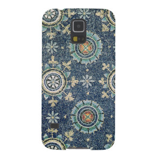 Detail of the floral decoration from the vault cases for galaxy s5