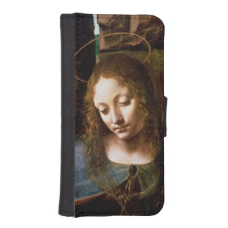 Detail of the Head of the Virgin Phone Wallets