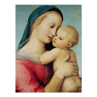 Detail of the 'Tempi' Madonna, 1508 Poster