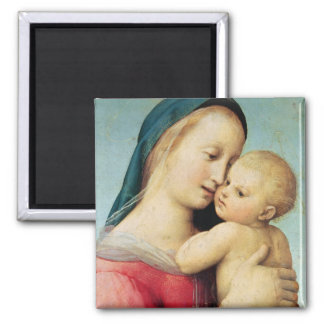 Detail of the 'Tempi' Madonna, 1508 Square Magnet
