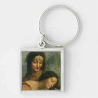 Detail of the Virgin and St Anne from The Virgin Key Chain