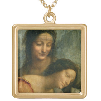 Detail of the Virgin and St. Anne from The Virgin Custom Jewelry