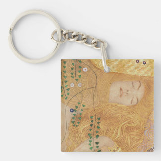 Detail of Water Serpents I Key Ring