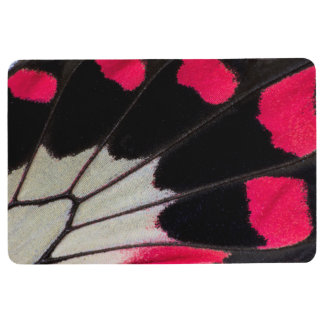 Detail Wing Pattern of Tropical Butterfly Floor Mat