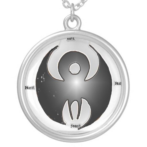 Detailed Archos  logo Personalized Necklace