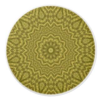 Detailed Boho Chic Mandala Ceramic Knob