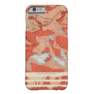 Detailed Geology Sheet XXVIII Barely There iPhone 6 Case