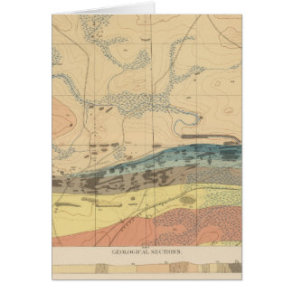 Detailed Geology Sheet XXX Card