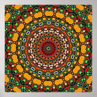 Detailed Mandala design Print