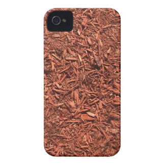 detailed mulch of red cedar for landscaper Case-Mate iPhone 4 cases