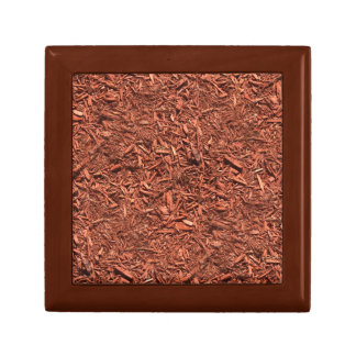 detailed mulch of red cedar for landscaper gift box